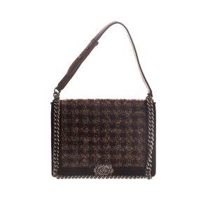 Maroon  Chanel Shoulder Bag
