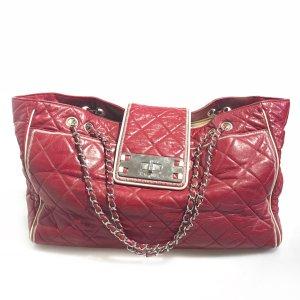 Chanel Borsa a tracolla rosso scuro