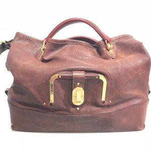 Maroon  Chloe Shoulder Bag