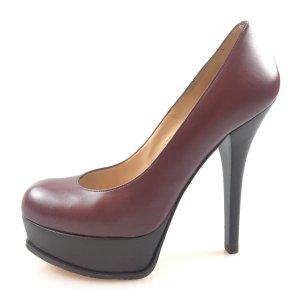 Fendi Sandalo con tacco alto rosso scuro