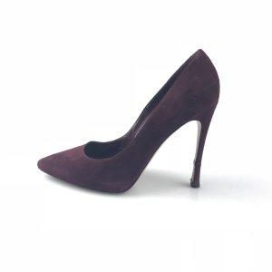 Gianvito rossi Sandalo con tacco alto rosso scuro