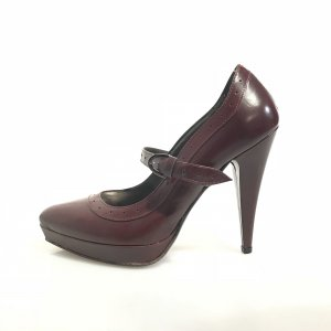 Maroon  Just Cavalli High Heel