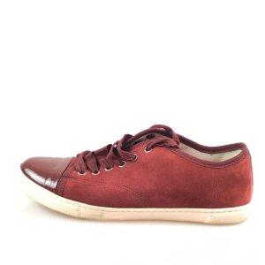 Maroon  Lanvin Sneaker