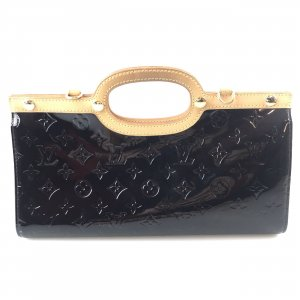 Maroon  Louis Vuitton Clutch