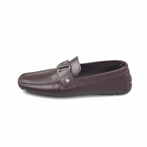 Louis Vuitton Loafers donkerrood