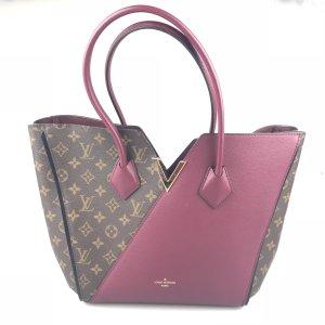 Maroon Louis Vuitton Shoulder Bag