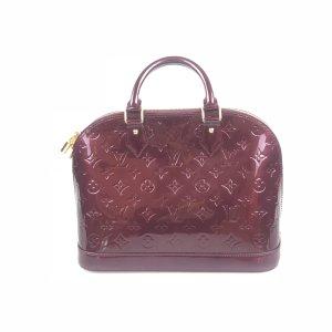 Louis Vuitton Bolsa de hombro rojo oscuro