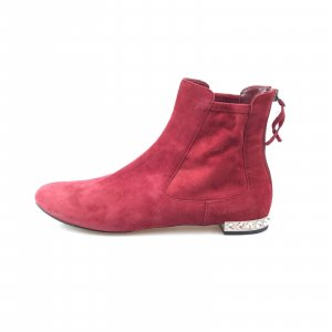 Maroon  Miu Miu Boot