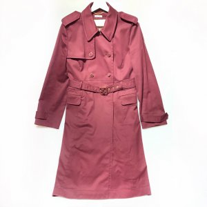 Maroon  Miu Miu Trench Coat