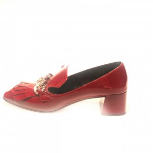 Maroon  Prada High Heel