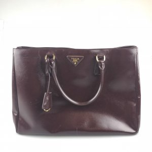 Maroon  Prada Shoulder Bag