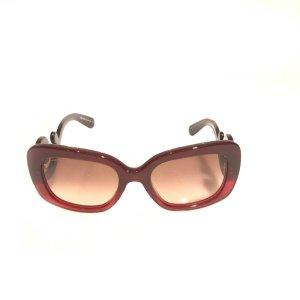 Prada Occhiale da sole rosso scuro