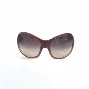 Versace Occhiale da sole rosso scuro