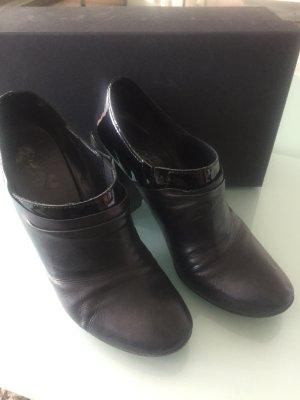 Marsèll Chaussure à talons carrés noir cuir