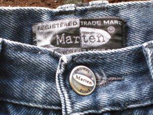 Marten Jeans dunkelblau in Größe 38