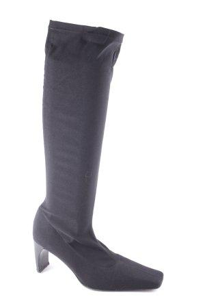 Martinez Valero Absatz Stiefel schwarz klassischer Stil