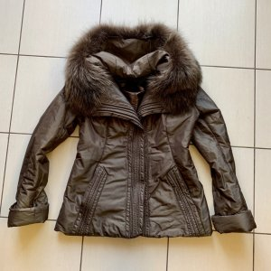 Quilted Jacket dark brown