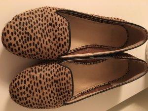 Maruti Peep Toe Ballerinas brown-black