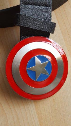 Marvel Comics Gürtel mit toller Schnalle Captain America nwt