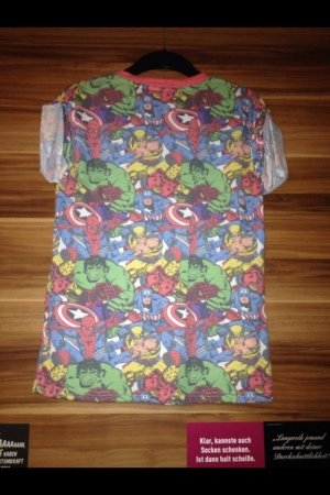 MARVEL Shirt, Hulk, Captain America, Gr. S