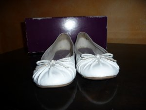 Görtz Mary Jane Ballerinas white imitation leather