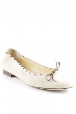 Mary Jane Ballerinas brown-camel casual look