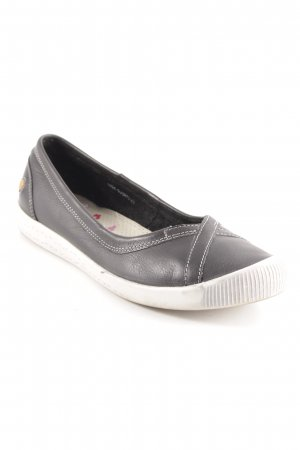 Mary Jane Ballerinas schwarz Casual-Look