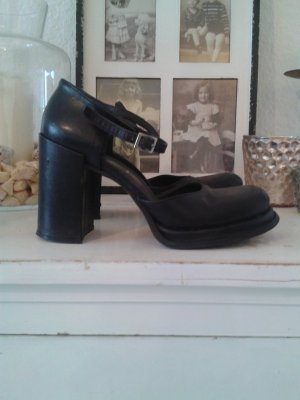 Tacones Mary Jane negro