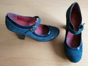 Mary Jane Pumps aus Leder