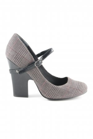Mary Jane Pumps check pattern classic style