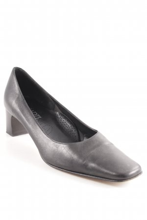 Mary Jane Pumps schwarz Business-Look