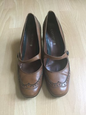 Mary Jane Pumps von Comma in Cognac, Ge. 40