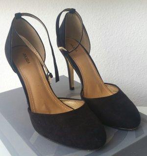 Mary Janes Spangen- Schuhe Riemchen Pumps