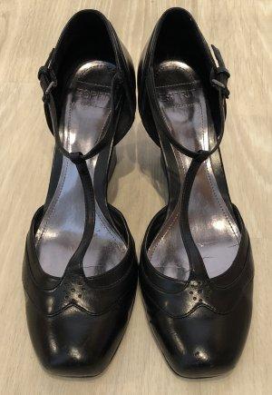 Mary Janes Wedges klassisch schwarz von Esprit