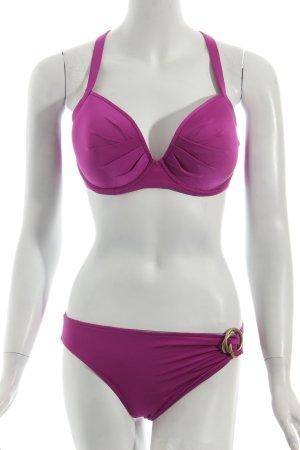 Maryan Mehlhorn Bikini violett Beach-Look