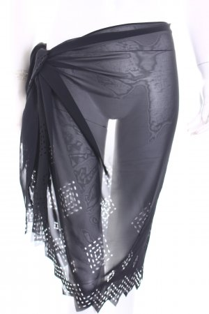 Maryan Mehlhorn Strandbekleidung schwarz Beach-Look