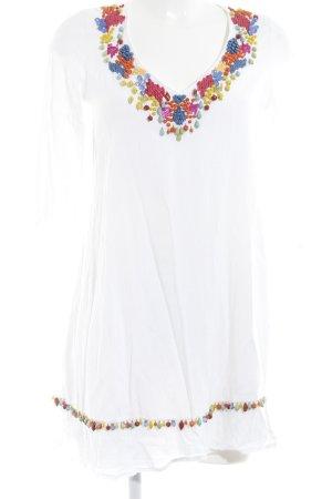 Maryan Mehlhorn Vestido tipo túnica multicolor Estilo playero