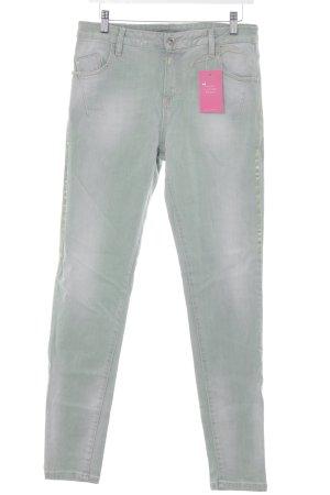 Maryley Skinny Jeans graugrün Casual-Look