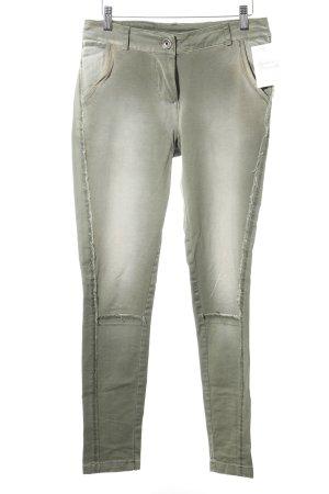 Maryley Skinny Jeans hellgrün-grasgrün Casual-Look