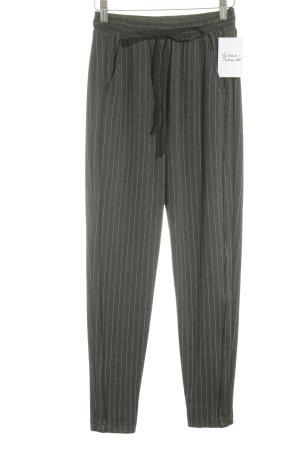 Maryley Stoffhose grau schlichter Stil