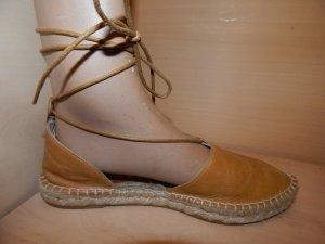 Espadrille Sandals sand brown