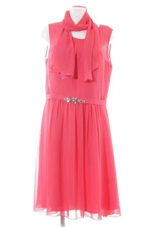 Mascara Abendkleid magenta-neonrot Elegant