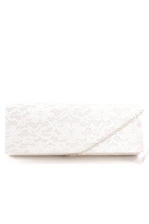 Mascara Clutch weiß Elegant