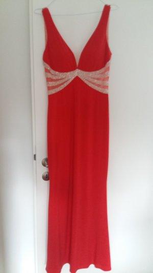 Mascara rotes Abendkleid