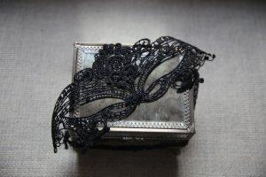 Maskenball Augenmaske Burlesque aus Stoff