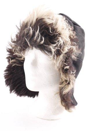 Maslov Aviator Hat black-oatmeal extravagant style