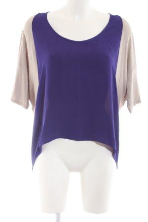 Mason Oversized Shirt creme-lila Casual-Look