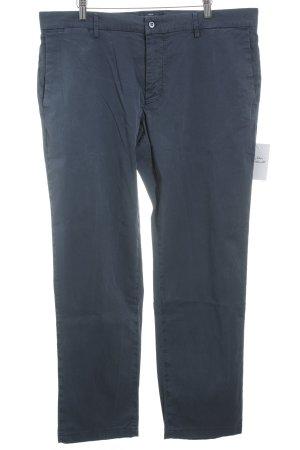 Mason's Pantalone chino blu stile classico