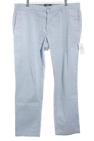 Mason's Pantalone chino azzurro stile classico