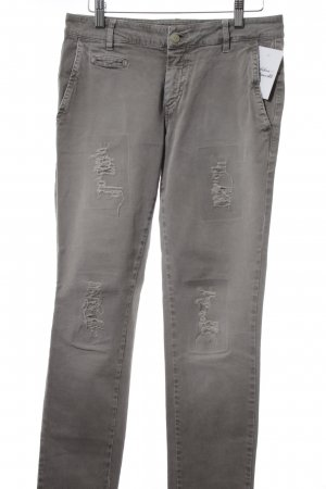 Mason's Slim Jeans grau Destroy-Optik